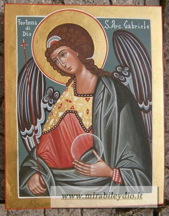 Icona S.Gabriele Arcangelo-