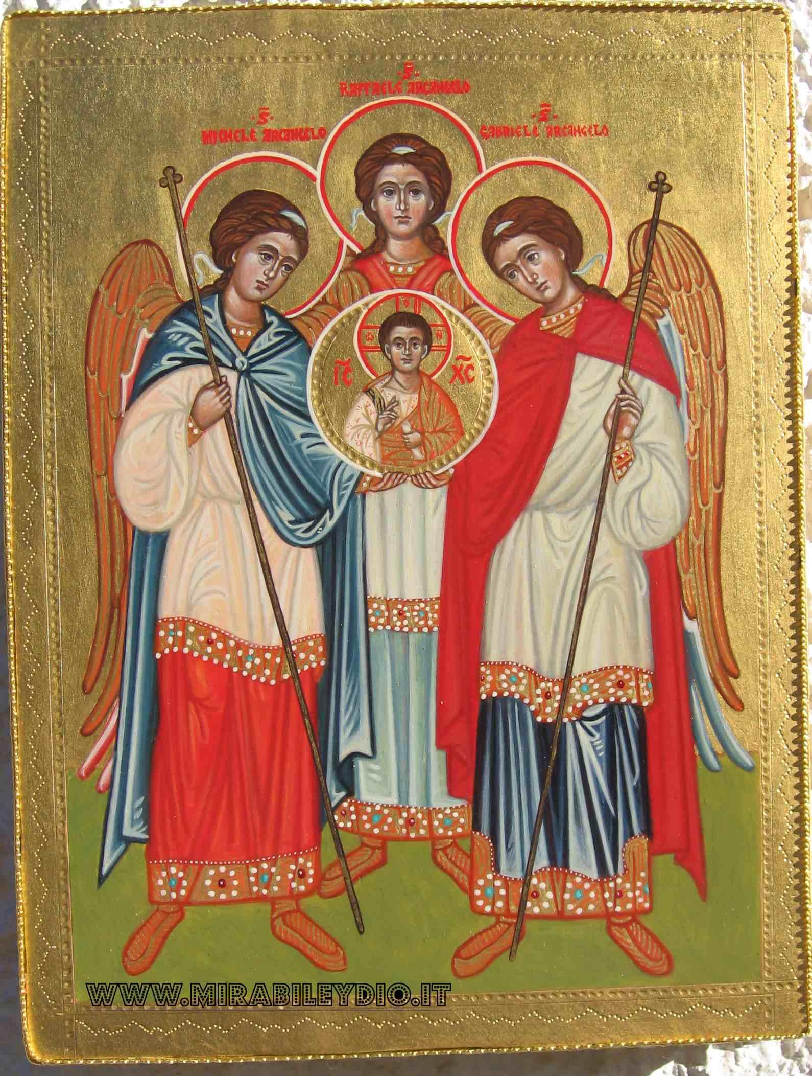 Sinassi degli arcangeli