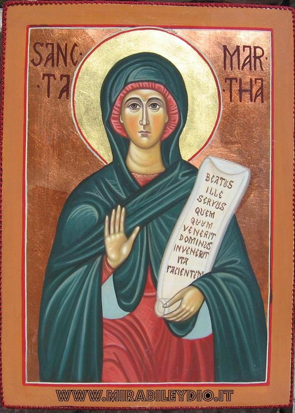 Icona Santa Marta
