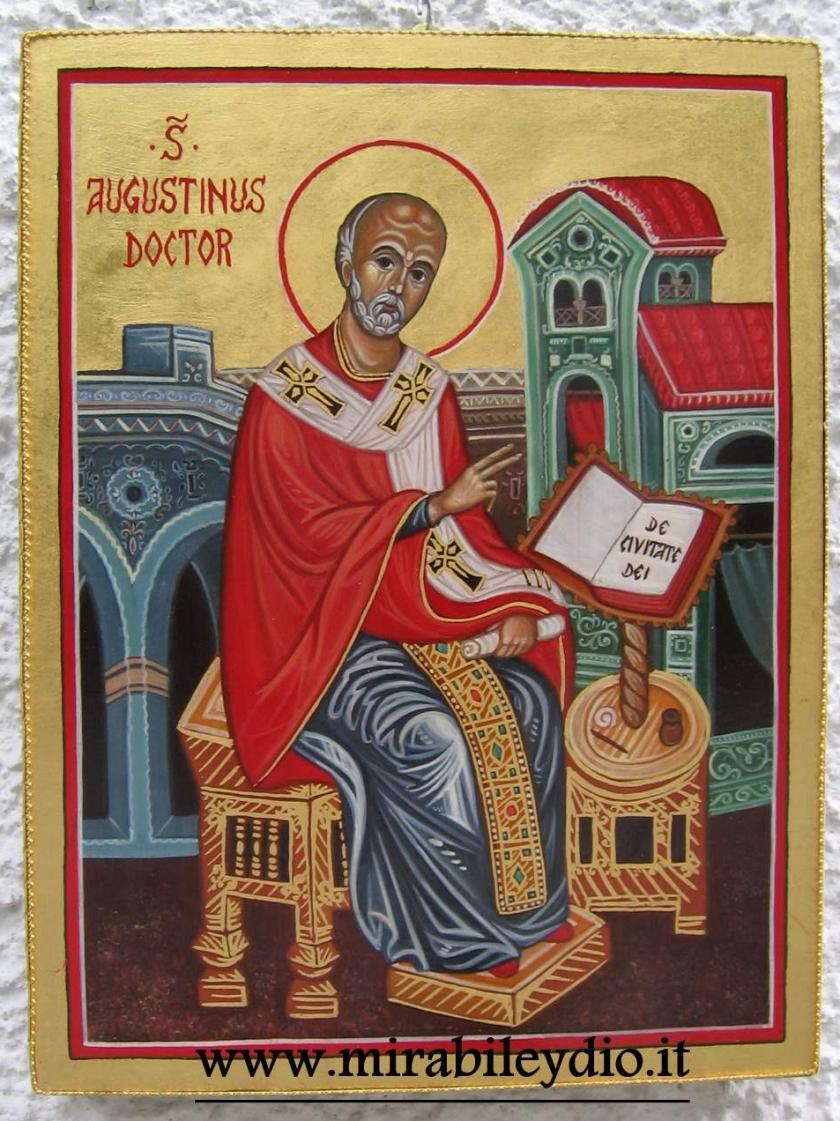Icona di S.Agostino