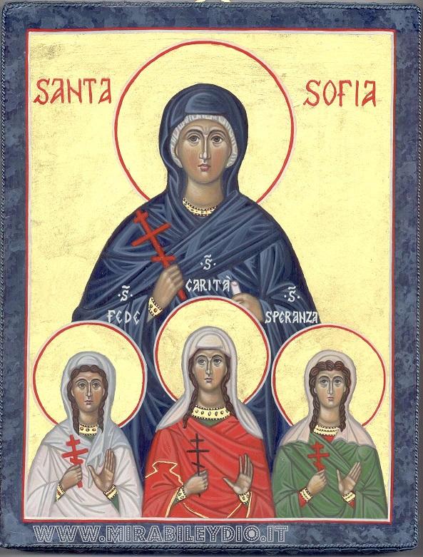 Icona Santa Sofia
