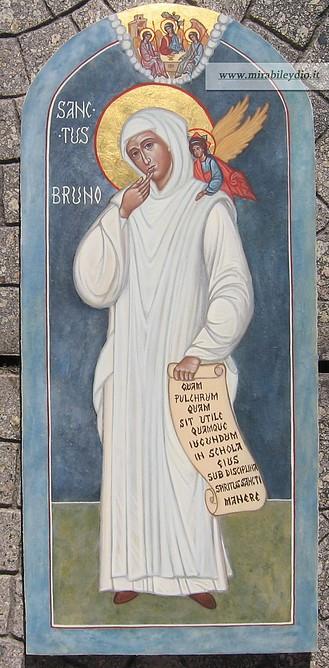 Icona di San Bruno
