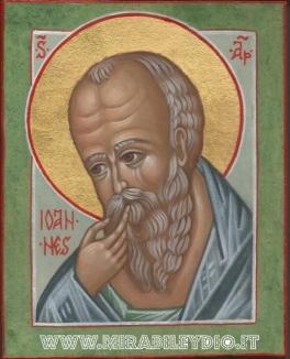 Icona san Giovanni teologo
