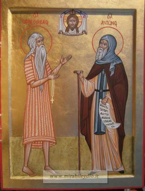S.Paolo di Tebe e S.Antonio il Grande