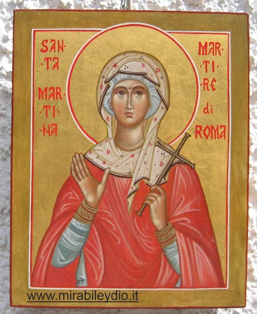 Icona Santa Martina