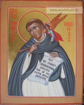 Icona San TOMMASO d'AQUINO