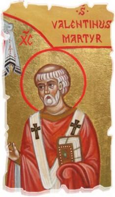 icona san Valentino martire
