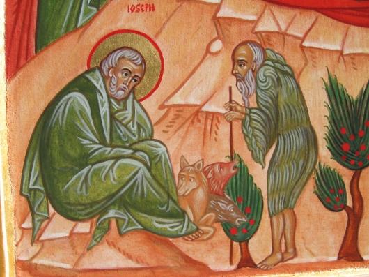 SAN GIUSEPPE (ICONA DEL NATALE)