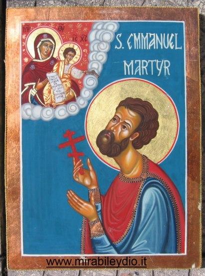 Sant'Emanuele martire