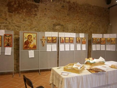 ICONE SACRE :I 20 MISTERI DEL ROSARIO al Monastero di Cairate