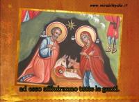 Icona sacra Natale -MIRABILE -YDIO