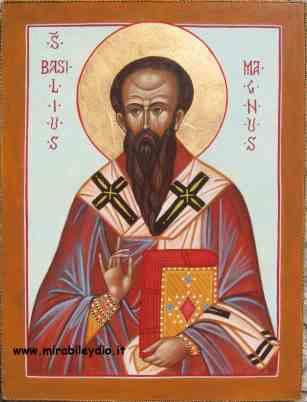 San  BASILIO MAGNO, Vescovo e dottore della Chiesa