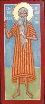 icona PAOLO di TEBE (2013) per mano di Cristina Capella
