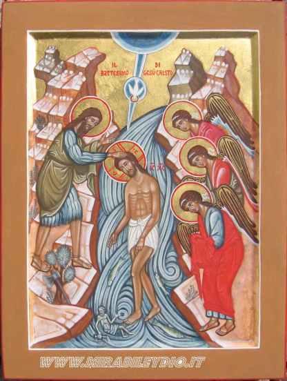 Battesimo di Gesù Cristo