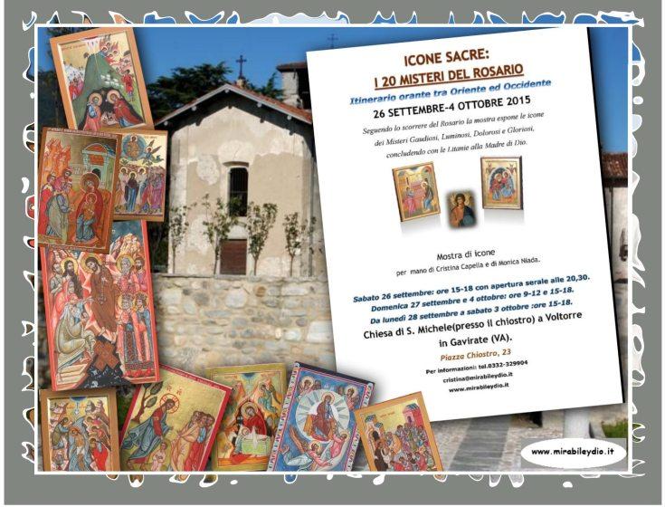 ICONE SACRE: I 20 MISTERI DEL ROSARIO www.mirabileydio.it