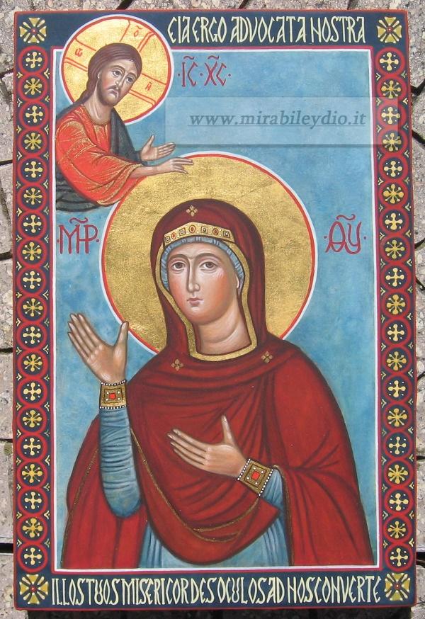 Icona Madre di Dio Advocata