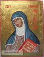 icona Santa Caterina da Bologna