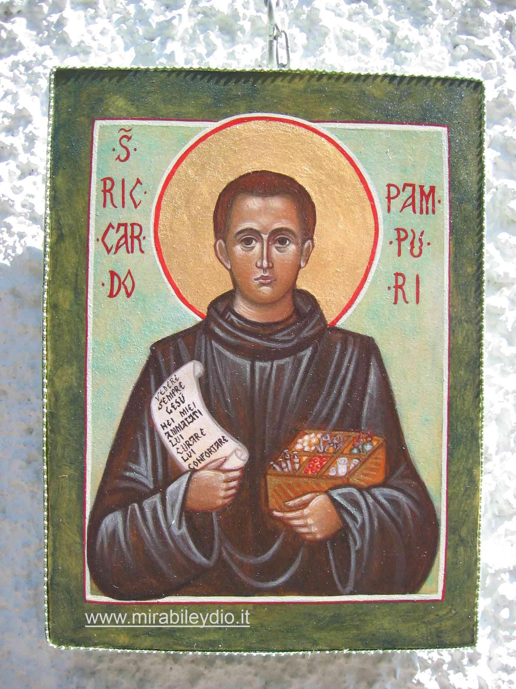 icona Riccardo Pampuri