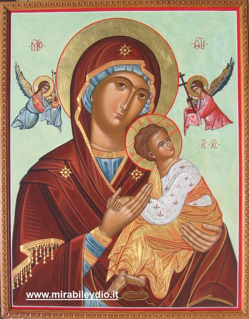 icona MADRE DI DIO DELLA PASSIONE