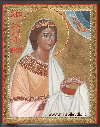 Icona di Santa Sabina