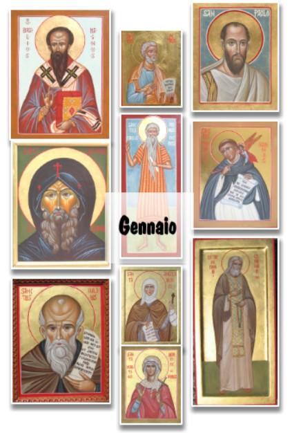 Santi di GENNAIO: