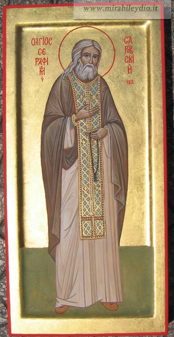 icona San Serafino di Sarov