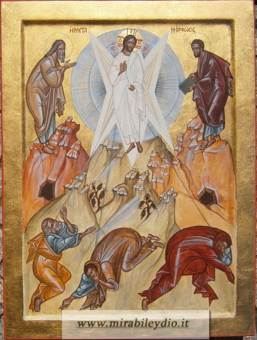 Icona della Festa della Trasfigurazione