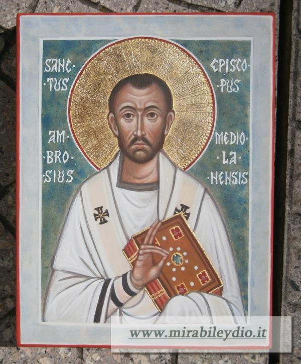 Icona Sant'Ambrogio