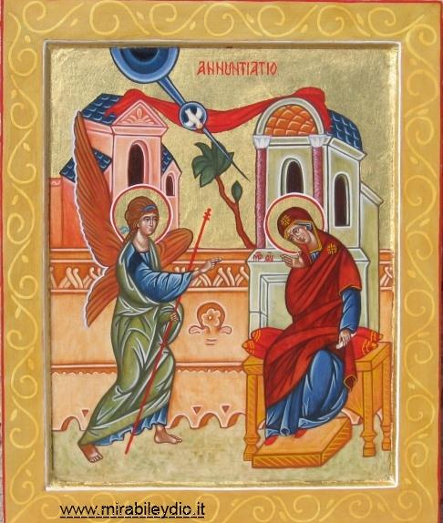 Icona Annunciazione
