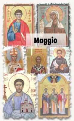 Icone dei santi di maggio