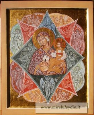ICONA Madre di Dio ROVETO ARDENTE