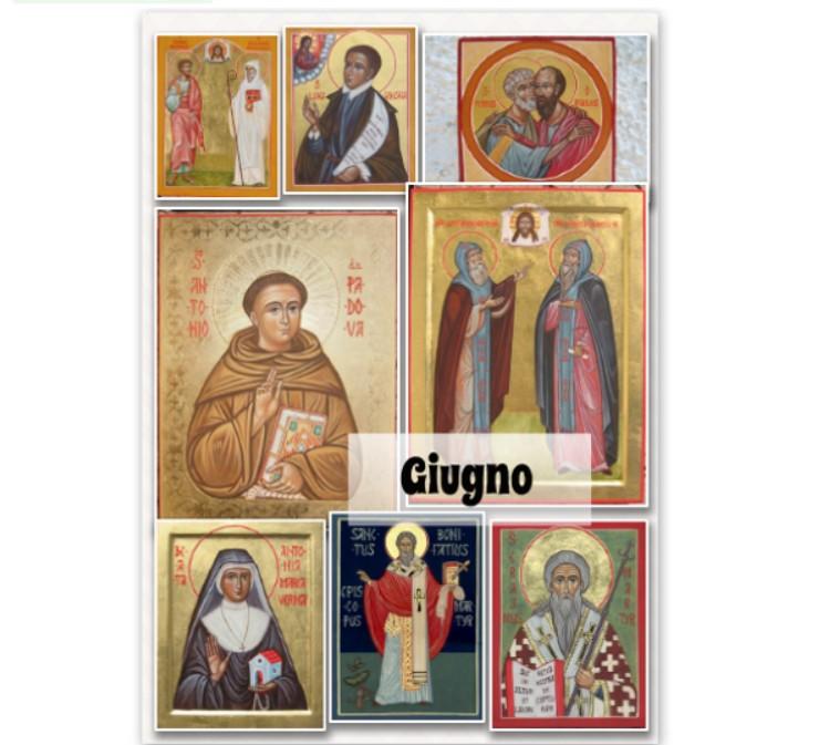 Icone santi giugno