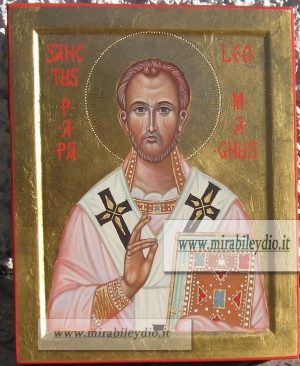 Icona San Leone Magno