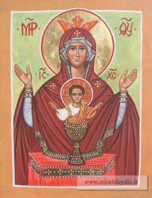 Madre di Dio Calice Inesauribile