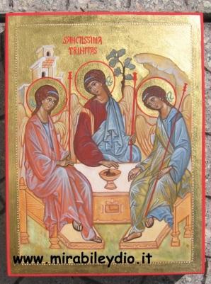 Icona della SS.Trinità-