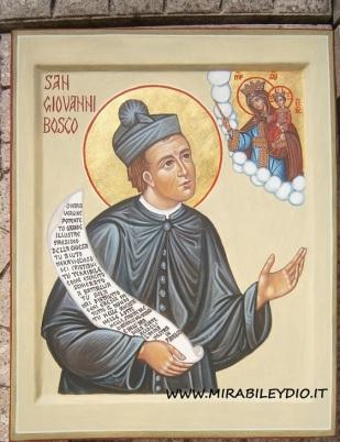 icona di SAN GIOVANNI BOSCO
