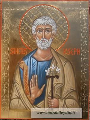 Icona di san Giuseppe