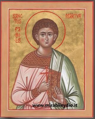 San Fabio martire (11 maggio)